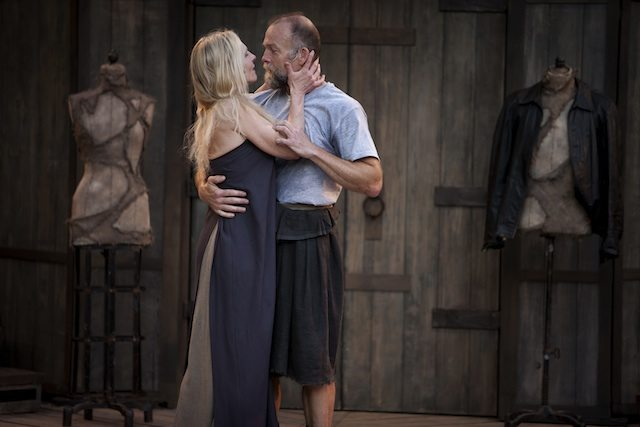 Philippa Domville and Hugh Thompson in Macbeth. Photo by David Hou.