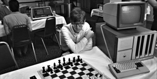 A still from Computer Chess