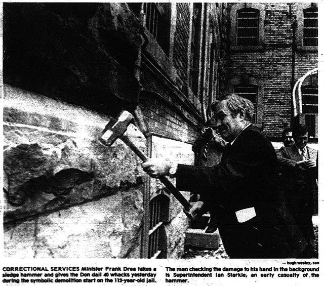 Photo by Hugh Wesley, the Toronto Sun, January 1, 1978