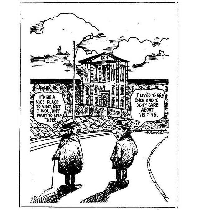 Cartoon, the Globe and Mail, November 11, 1977