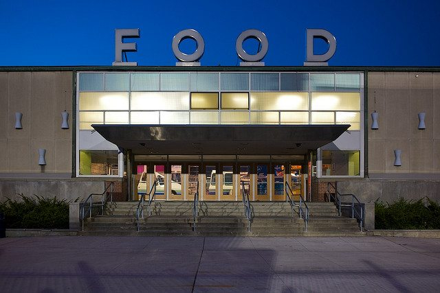 The food building at the CNE  Photo by Garry Choo, from the Torontoist Flickr Pool