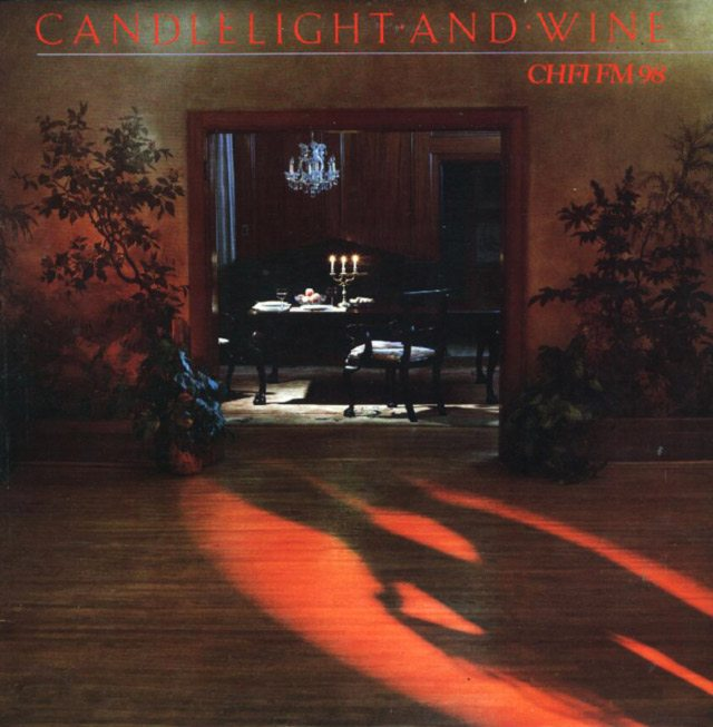 A sample album from the Candlelight & Wine series