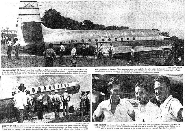 Article from the Toronto Star (August 17, 1949)