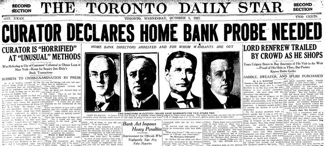 Coverage from the Toronto Star (June 27, 1925)