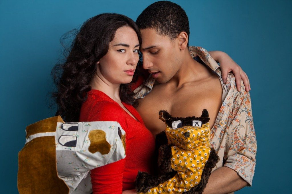Cara Gee and Kaleb Alexander in Family Story  Photo by James Di Donato