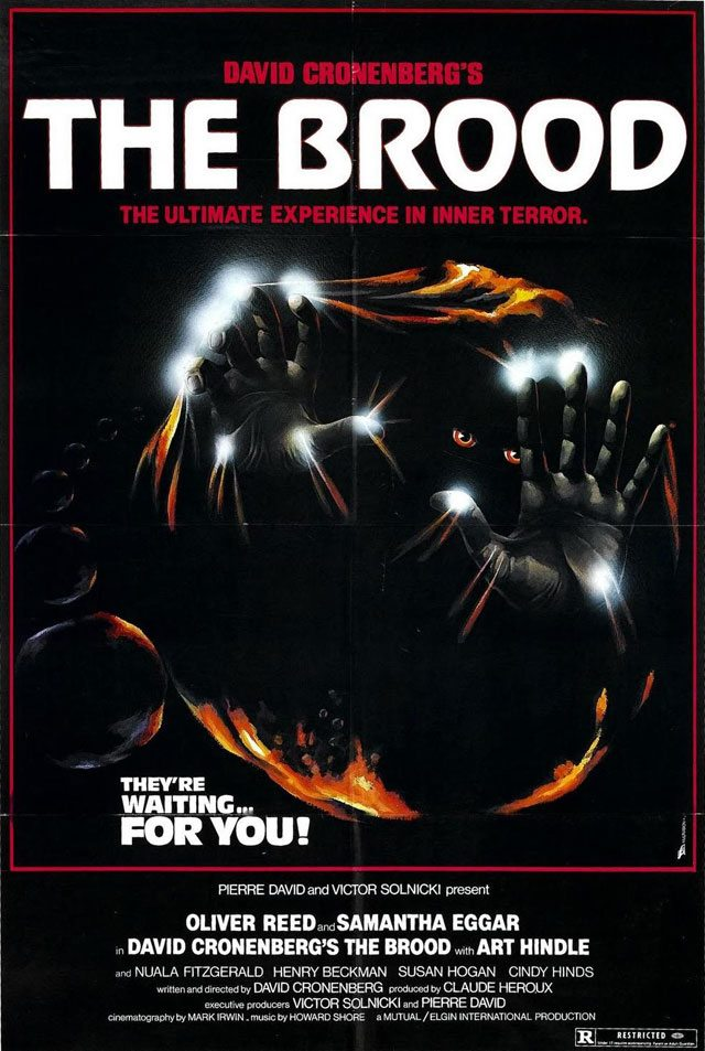 David Cronenberg's The Brood was one of many early TIFF films that had issues with provincial censors