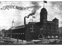 The O'Keefe Brewery at Gould and Victoria. The Globe, June 8, 1895.