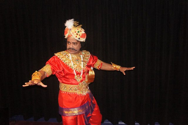 Manuel Jesudasan will perform The King's Fury—a Tamil Folk Drama as part of Culture Days. Photo courtesy of the Toronto Public Library.