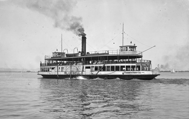 The Bluebell of the Toronto Ferry Company, 1920, by Charles A  Williams  From the Toronto Public Library's Digital Collection