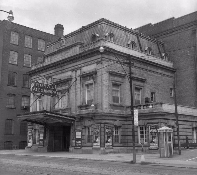 Royal Alexandra Theatre, 1955, by James V  Salmon  Toronto Public Library's Digital Collection