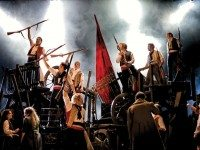 The cast of the highly anticipated Mirvish Productions remount of Les Miserables. Photo by Michael Le Poer Trench.