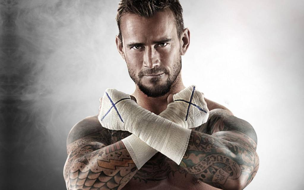 CM Punk. Photo courtesy of the WWE.