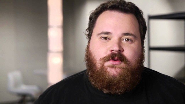 """K Trevor Wilson in a still from his """"Complaint"""" video for CBC's George Stroumboulopoulos Tonight"""