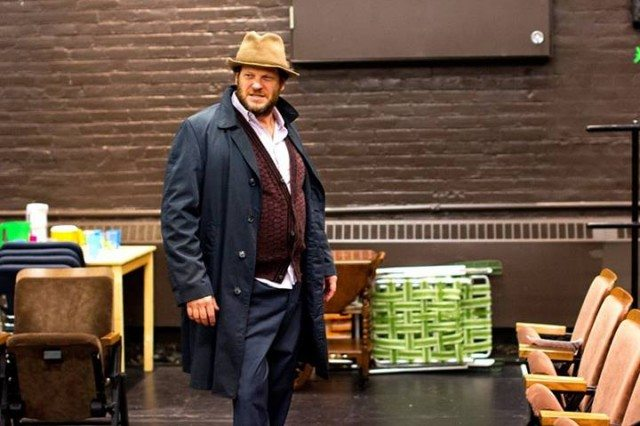 Soulpepper's artistic director Albert Schultz in rehearsal for The Norman Conquests. Photo by Nathan Kelly.