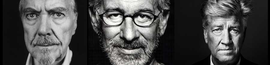 Robert Altman, Steven Spielberg, and David Lynch will all be under discussion at this week's edition of Media Mondays. Photos courtesy of Film at the J.