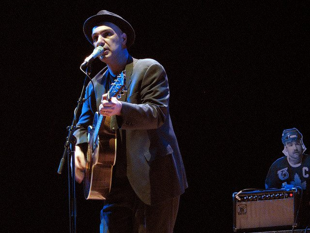 Dave Bidini in concert  Photo by Simon Law, from Flickr