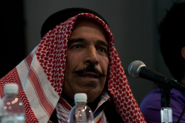 The Iron Sheik. Photo by Randy Stewart.