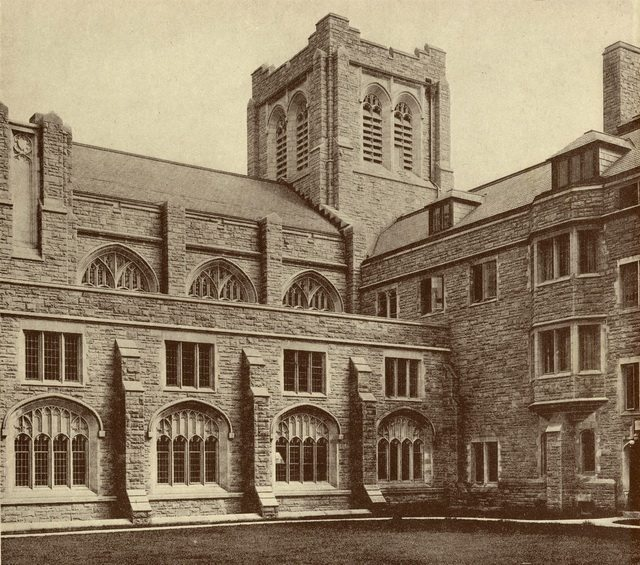 Knox College quad, ca  1915  From the Toronto Public Library Digital Collection