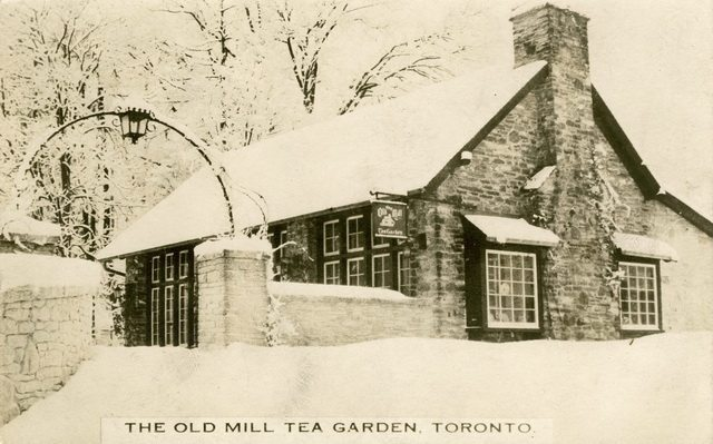 Postcard of the Old Mill Tea Room, ca  1910s  From the Toronto Public Library Digital Collection