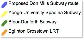 don mills subway legend