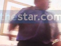 A screenshot of the video obtained by the Star.