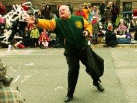 Rob Ford at the Santa Claus Parade in 2012. Photo by Jason Verwey, from the Torontoist Flickr Pool.