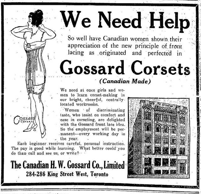 Advertisement showing an early tenant of the Anderson Building, the Globe, July 27, 1916