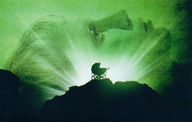 From the poster for Rosemary's Baby  Image courtesy of Paramount Pictures