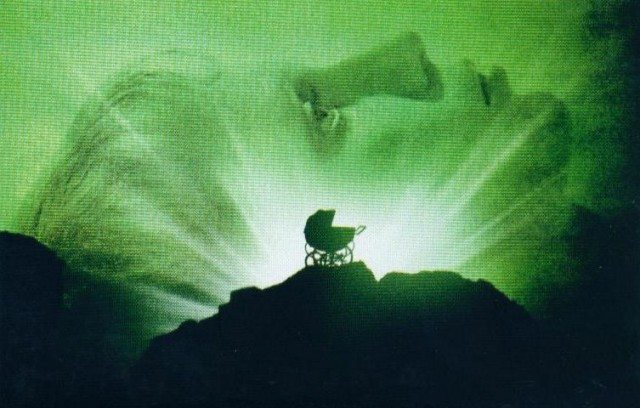 From the poster for Rosemary's Baby. Image courtesy of Paramount Pictures.