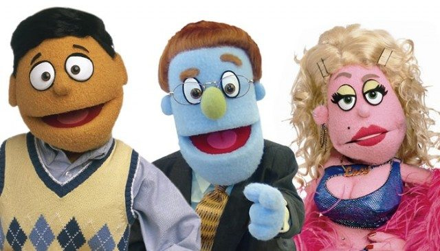 Princeton, Rod, and Lucy the Slut are some of the chacters you'll meet on Avenue Q  Image courtesy of Avenue Q
