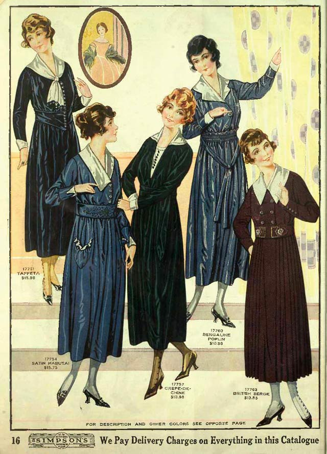 Source: Simpsons Fall Winter 1918 19 Catalogue
