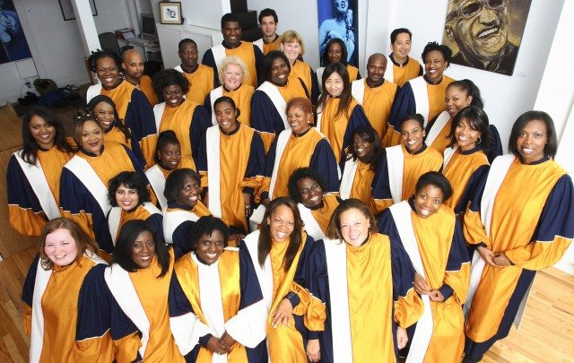 The Toronto Mass Choir is one of three vocal groups performing in the Christmas Choral Celebration. Photo courtesy of Toronto Mass Choir.