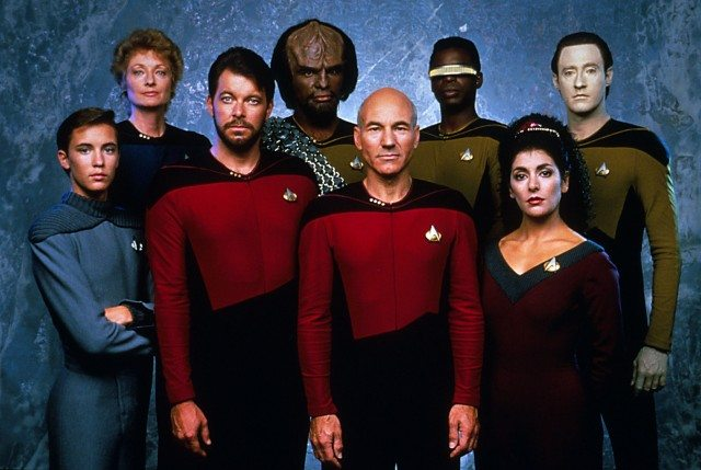 The crew of the starship Enterprise. Image courtesy of Paramount Pictures.