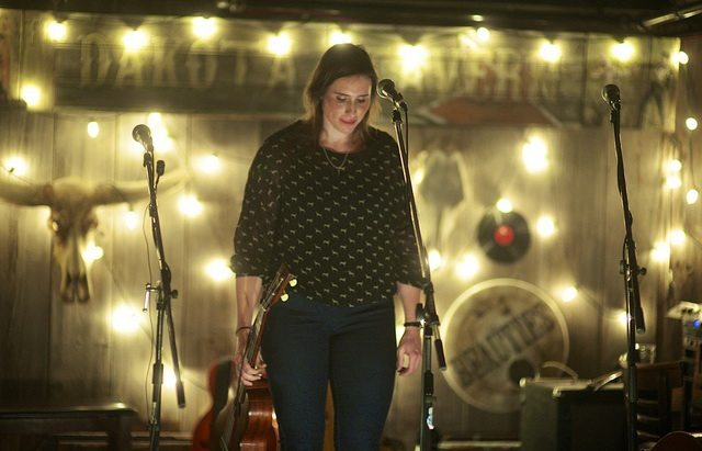 Rose Cousins performing at Dakota Tavern. Photo by Ali Eisner.