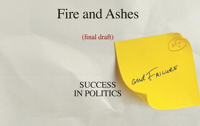 Michael Ignatieff's new memoir, Fire and Ashes, details the inner workings of Canadian political culture  Image courtesy of Random House of Canada
