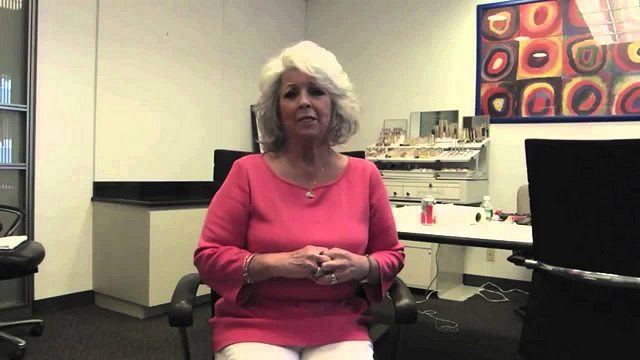Paula Deen, in the midst of one of her video apologies  Photo by zennie62, from Flickr