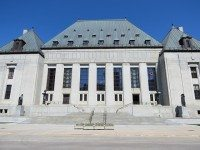 The Supreme Court of Canada building. Photo by Flickr user Robert Linsdell.