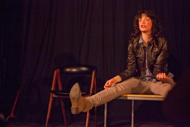 Deanna Jones stars in The Keith Richards One Woman Show. Photo by Lauren Garbutt Photography.
