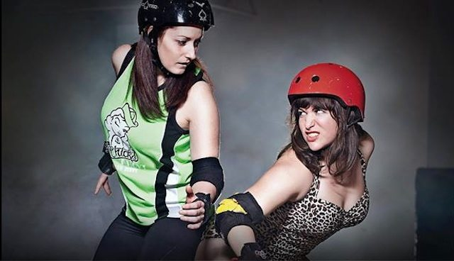 Toronto Roller Derby presents its 8th season opener. Photo by Ashlea Wessel.