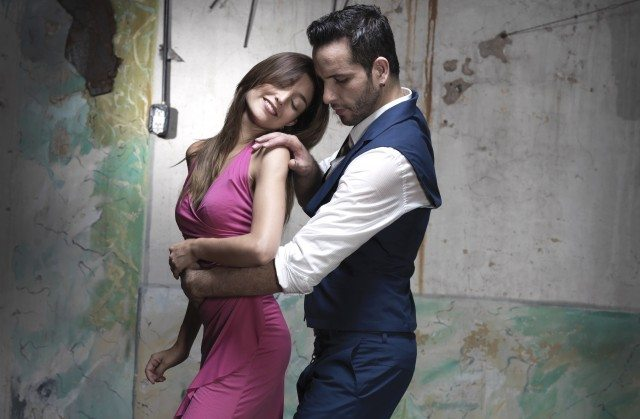 Juan Cupini and Micaela Spina star in Arrabal. Photo by Eugenio Mazzinghi.