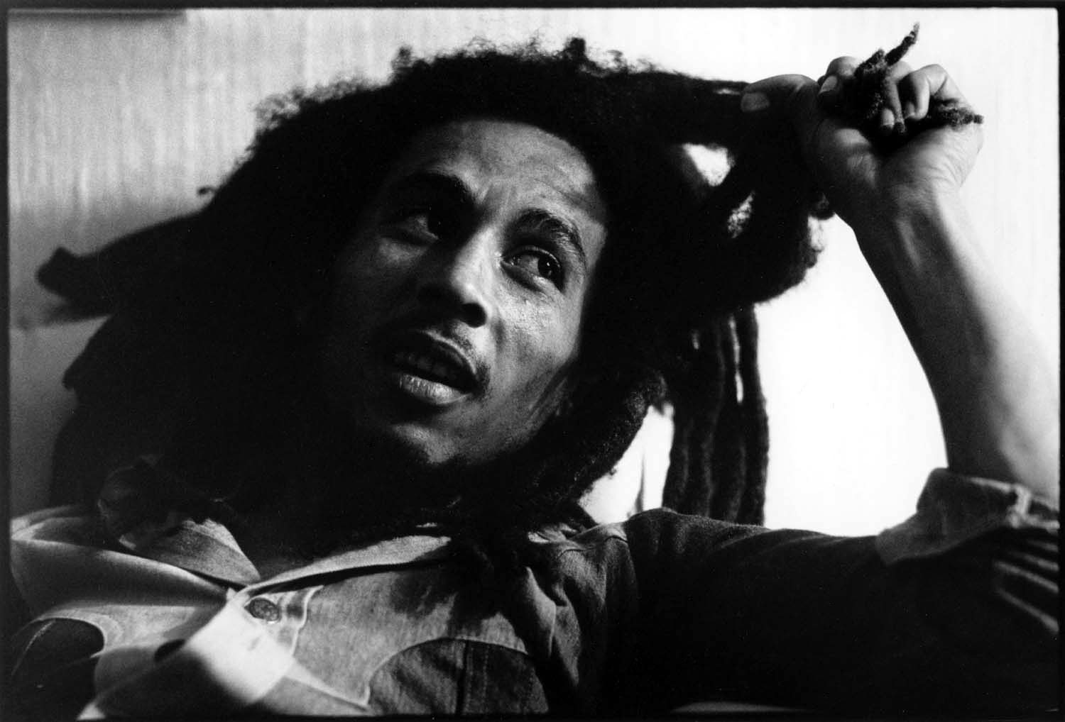 Bob Marley. Photo by David Burnett.