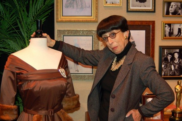 Susan Claassen as legendary designer Edith Head. Photo by Jim Blair.