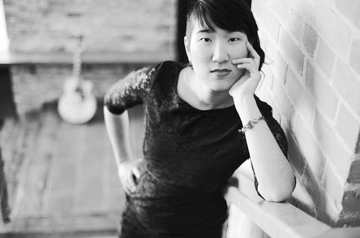 Kitchener-based poet Janice Lee headlines this month's Toronto Poetry Slam. Photo by Stefan Chirila.