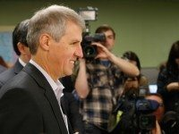 David Soknacki on the day he registered to run for mayor.