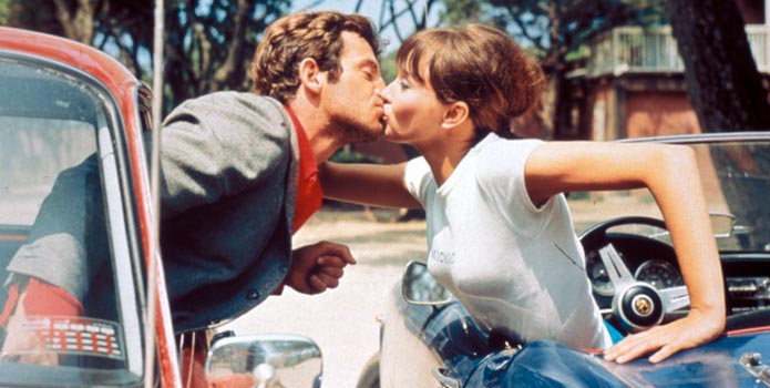 Still from Pierrot le fou.