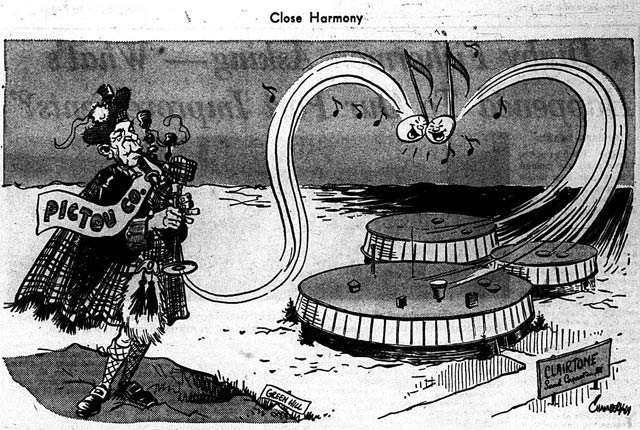 Editorial cartoon, the Halifax Chronicle Herald, November 20, 1964