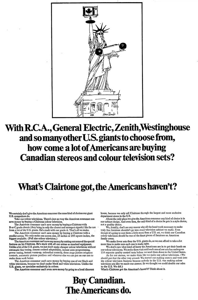An IEL era ad  The Toronto Star, May 15, 1968