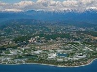 The Olympic Village at Sochi, which is officially the most heterosexual village of all time.