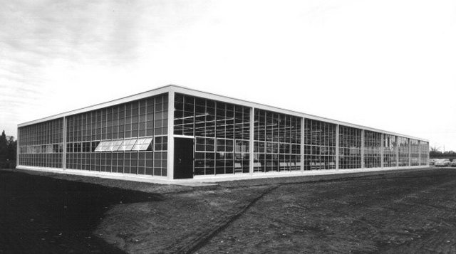 John B  Parkin Associates, 1500 Don Mills Road, Toronto, 1955  From Panda Associates fonds, Canadian Architectural Archives (PAN 551149 2)