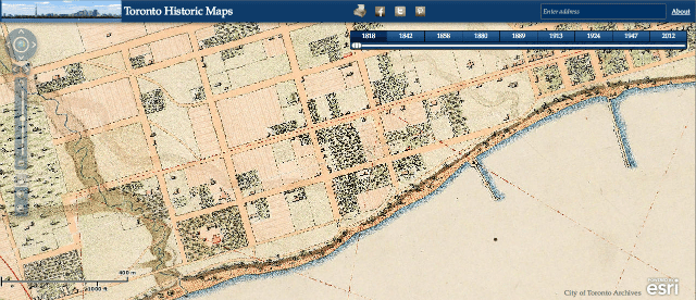 Maps Toronto.Get Interactive With Historical Toronto Maps